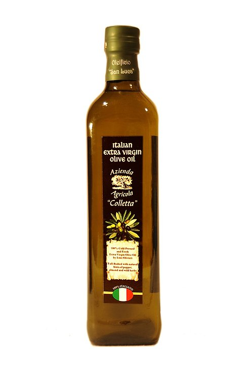 1lt Glass, Marasca, Olivieri's Extra Virgin Olive Oil